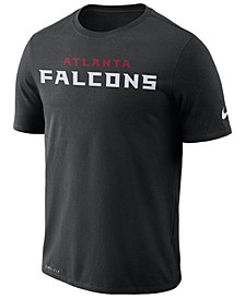 Men's Atlanta Falcons Dri-FIT Cotton Essential Wordmark T-Shirt