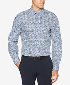 Perry Ellis Men's Slim-Fit Floral-Print Shirt
