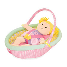 Manhattan Toy Baby Stella Cute Comfort Car Seat For 15 Inch Baby Dolls