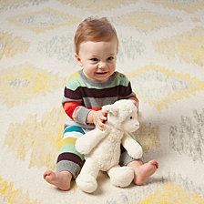 Manhattan Toy Lovelies Lindy Lamb 12 Inch Plush Toy