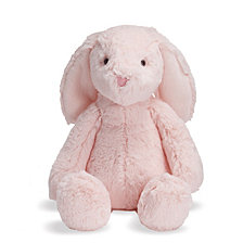 Manhattan Toy Lovelies Pink Binky Bunny 12 Inch Plush Toy