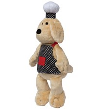 Manhattan Toy Chef Dog Stuffed Animal