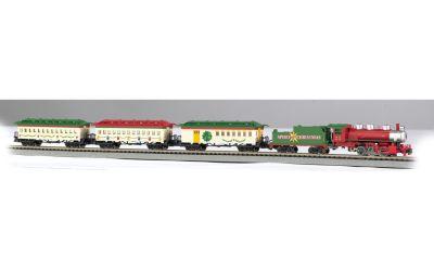 Bachmann Trains Spirit Of Christmas N Scale Ready To Run Electric Train Set