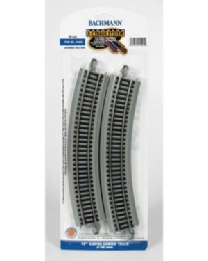 Bachmann Trains 18 Inch Radius Curved Nickel Silver E Z Track 4 Card Ho Scale
