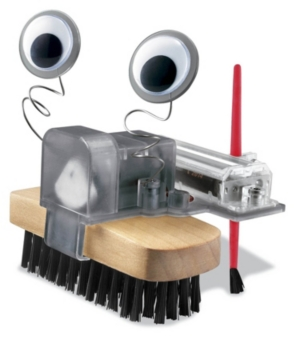 Image of 4M Brush Robot Science Kit Stem