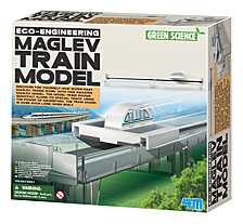 4M Eco Engineering Maglev Train Model