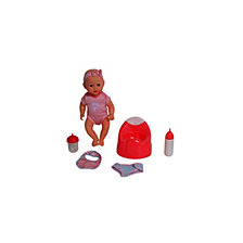 Dream Collection 14 Inch Drink And Wet Baby Doll With Training Potty