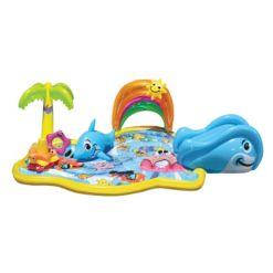 Banzai Toddler Kids Inflatable Splish Splash Water Park