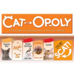 Late for the Sky Cat-Opoly Game