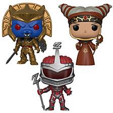 Funko Pop Tv Power Rangers Series 7 Villians Collectors Set Rita Repulsa, Goldar, Lord Zedd
