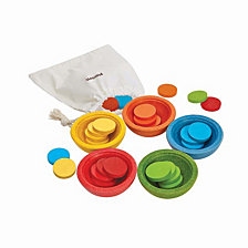 Plantoys Sort And Count Cups Baby Toy