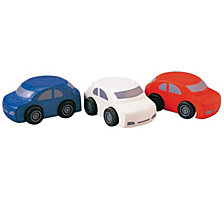 Plantoys Wooden Family Toy Cars Set Of 3