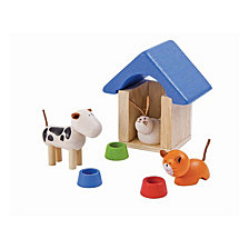 Plantoys Dollhouse Pets And Accessories