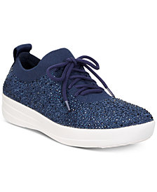 FitFlop F-Sporty Uberknit Crystal Sneakers