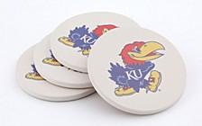 University of Kansas Coasters, Set of 4