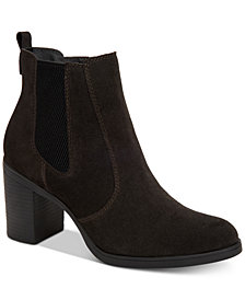 Giani Bernini Korma Memory-Foam Ankle Booties, Created for Macy's