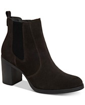 5fe1f1e6d Leather Ankle Boots  Shop Leather Ankle Boots - Macy s