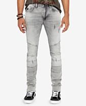 5c285c47407a Buffalo David Bitton Men s Max-X Skinny-Fit Stretch Moto Jeans