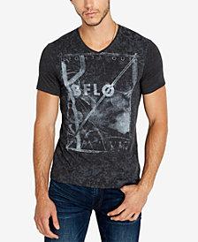 Buffalo David Bitton Men's Taswa Graphic V-Neck T-Shirt