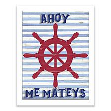 Ahoy Me Mateys Shadowbox