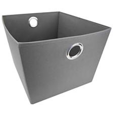 Home Basics 600D Polyester Storage Bin