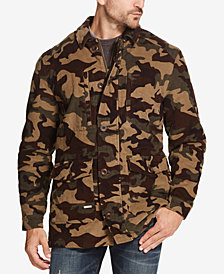 Weatherproof Vintage Men's Corduroy Camo Jacket, Created for Macy's