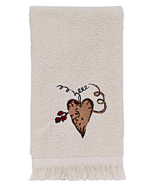 Avanti Hearts and Stars Fingertip Towel