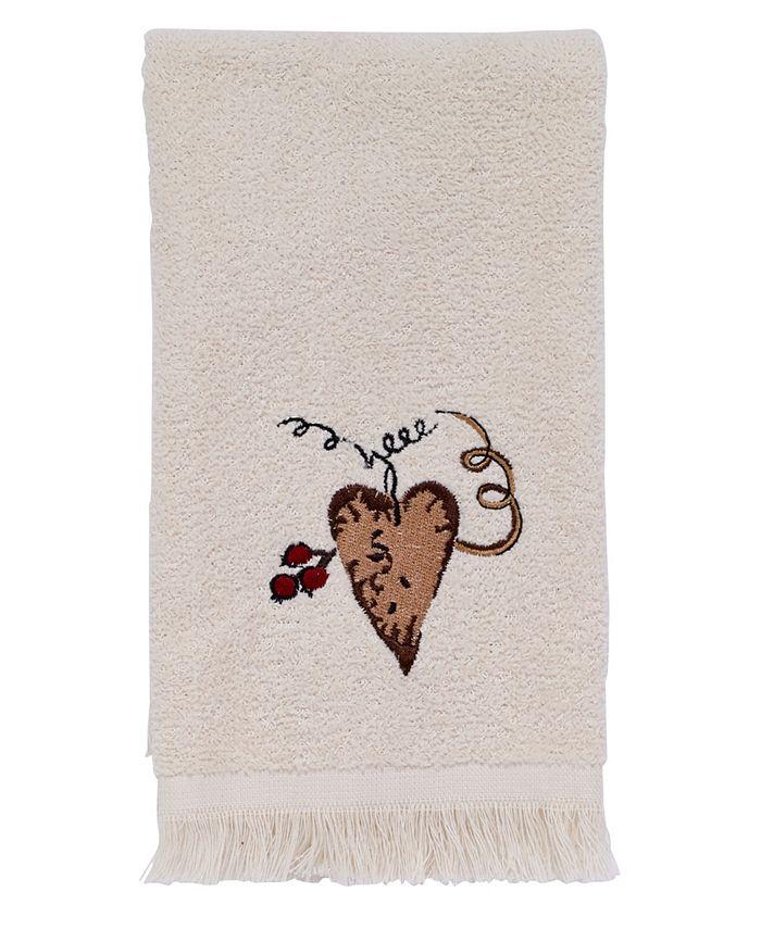 Avanti - Hearts and Stars Fingertip Towel