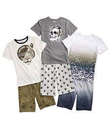 Epic Threads Big Boys Graphic T-Shirts & Shorts, Created for Macy's