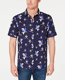 68a10563b Tommy Bahama Men's Toucan Do Tropical Stripe Print Shirt