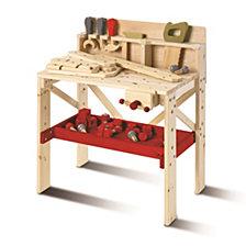 FAO Schwarz Toy Wood Workbench Large