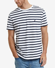 Men's Striped Crewneck T-Shirt