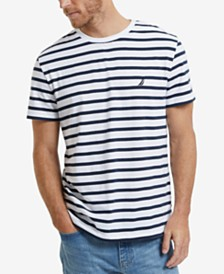 Nautica Men's Striped Crewneck T-Shirt
