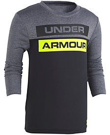 Under Armour Toddler Boys Colorblocked Logo-Print T-Shirt