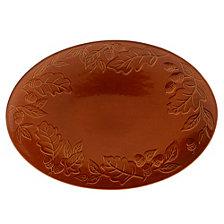 Certified International Autumn Fields Acorn Pumpkin Oval Platter