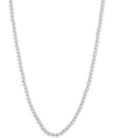 """Lauren Ralph Lauren Imitation Pearl 42"""" Strand Necklace"""