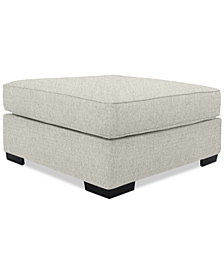 Ainsley Fabric Cocktail Ottoman