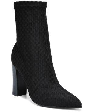 FERGIE   Fergie Taryn Women's Sock Booties Women's Shoes   Goxip