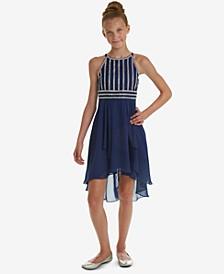 Big Girls Embellished Bodice Party Dress
