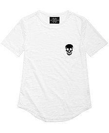 Big Boys Skull Graphic T-Shirt