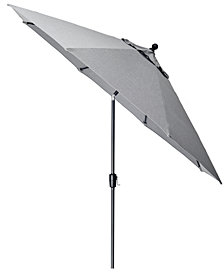Grove Hill II Outdoor 11' Umbrella With Sunbrella® Fabric, Created For Macy's