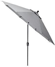 Grove Hill II Outdoor 11' Umbrella With Sunbrella® Fabric, Created For Macy's