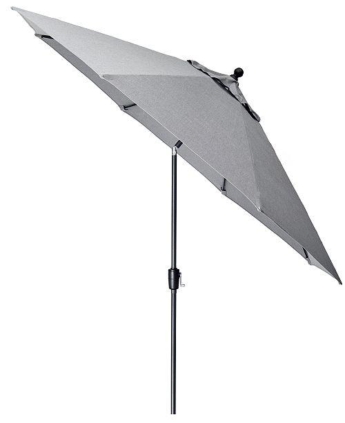 Furniture Grove Hill II Outdoor 11' Umbrella With Sunbrella® Fabric, Created For Macy's