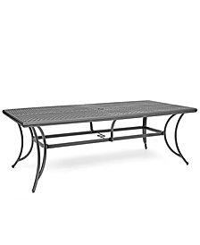 "Grove Hill II Cast Aluminum 84"" X 42"" Outdoor Table, Created For Macy's"
