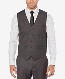 Perry Ellis Men's Solid Vest