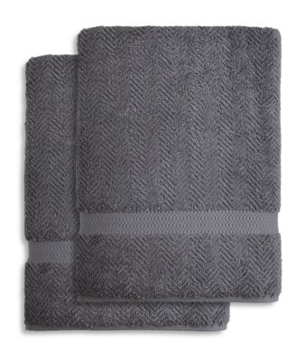 Herringbone 4-Pc. Hand Towel Set