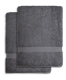 Herringbone Bath Towel Collection