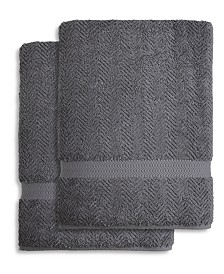 Linum Home Herringbone Bath Towel Collection