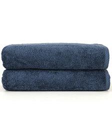 Linum Home Soft Twist 2-Pc. Bath Sheet Set