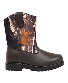 Deer Stags Little and Big Boys and Girls Tour Thinsulate Waterproof Pull On Boot